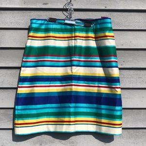 1a69ab2ad9 Talbots Skirts | 12p Nwt Rainbow Striped Pencil Skirt | Poshmark